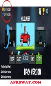 Hill Climb Racing Mod Apk With Unlimited Coins & Fuel |APKSWAY 5