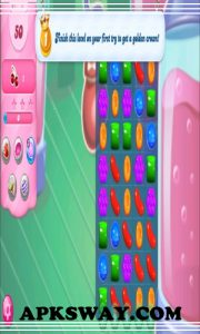 Candy Crush Saga Mod Apk Unlimited Gold For Android |APKSWAY 3