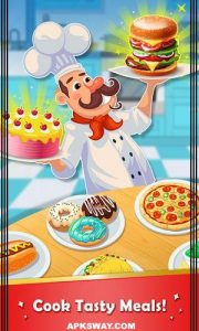 Cooking Fever Mod Apk For Android (Unlocked Version) 1