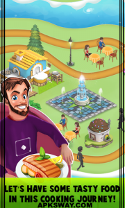 Cooking Fever Mod Apk For Android (Unlocked Version) 2