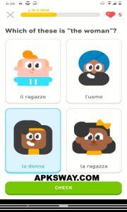 Duolingo Mod Apk For Android Premium Unlocked 4