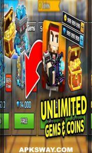 PIXEL GUN 3D Mod Apk Download Unlocked Version 1