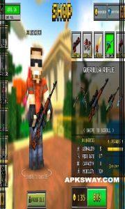 PIXEL GUN 3D Mod Apk Download Unlocked Version 4