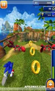 Sonic Dash Mod Apk For Android  Full Unlocked Version 4