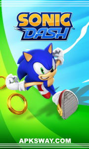 Sonic Dash Mod Apk For Android  Full Unlocked Version 1