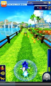 Sonic Dash Mod Apk For Android  Full Unlocked Version 3