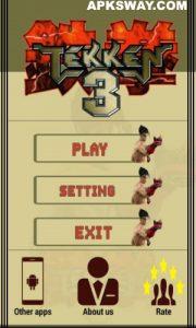 Tekken 3 Mod Apk Download For Android (Full Unlocked) 1