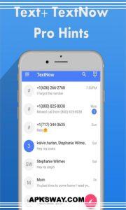 TextNow Mod Apk Free Download Premium Unlocked Version 3