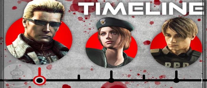 Resident Evil Timeline